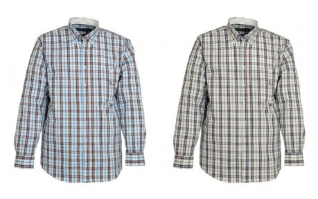 Percussion Cotton Traditional Country Checked Shirt Hunting Fishing Shooting